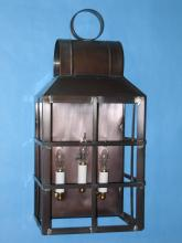 Lighting By The Sea Items 3040HC - Solid Copper Wall Lantern