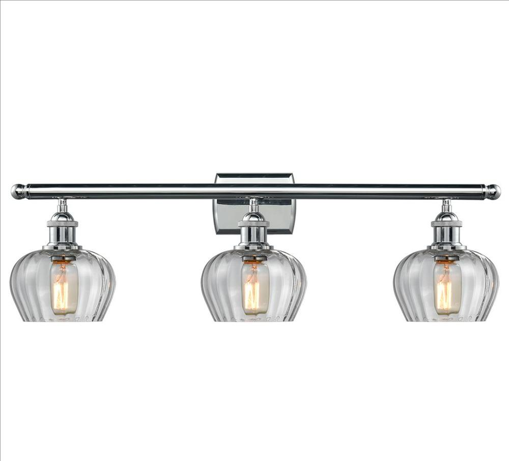 Fenton 3 light bathroom fixture