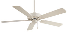 "Minka-Aire F547-BWH - Contractor  52"" - Bone White"