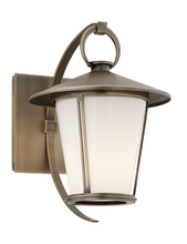 Troy B3251 - One Light Antique Brass Wall Lantern