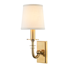 Hudson Valley 8400-AGB - 1 Light Wall Sconce